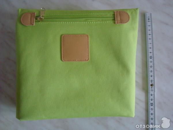 Отзыв: Сумка универсальная Yves Rocher - Мое зеленое настроение.