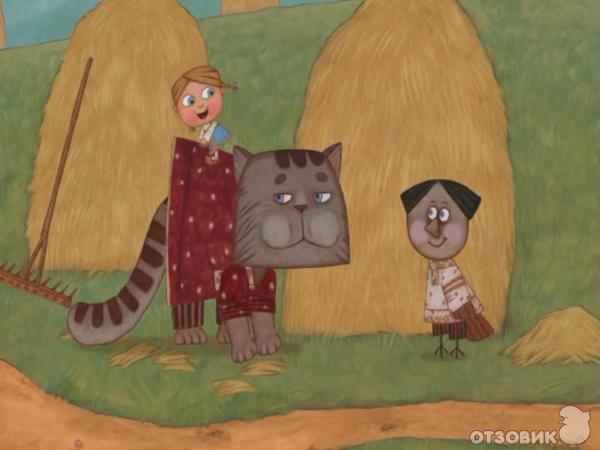 Мультик про кота воробья и девочек