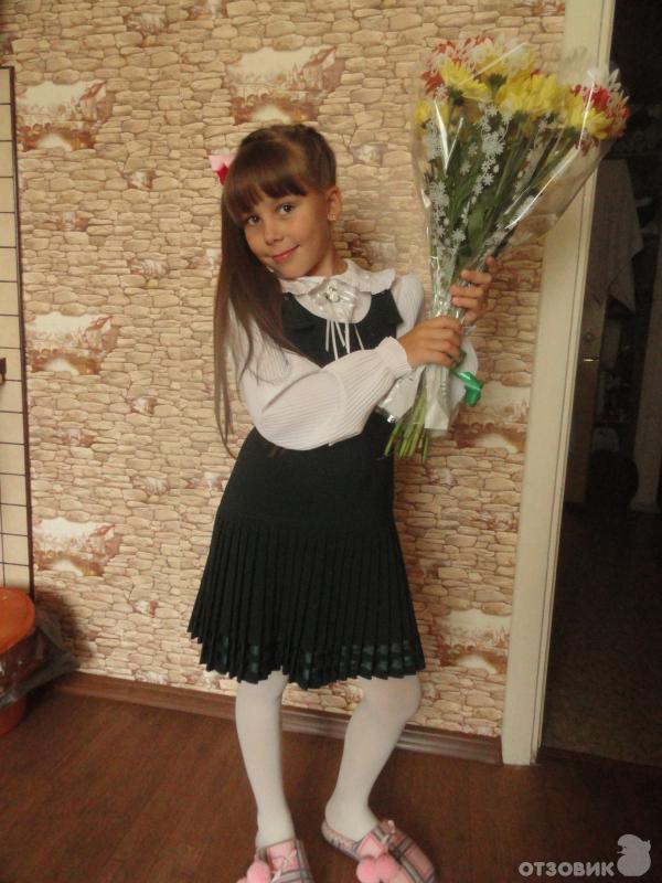 Юбка школьная маленькая леди