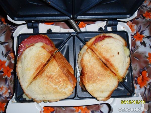 Что приготовить в сэндвичнице кроме бутербродов