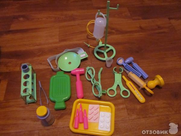 Игровой набор Пластмастер