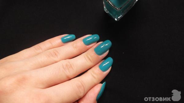 Дизайн ногтей цвет морской волны фото