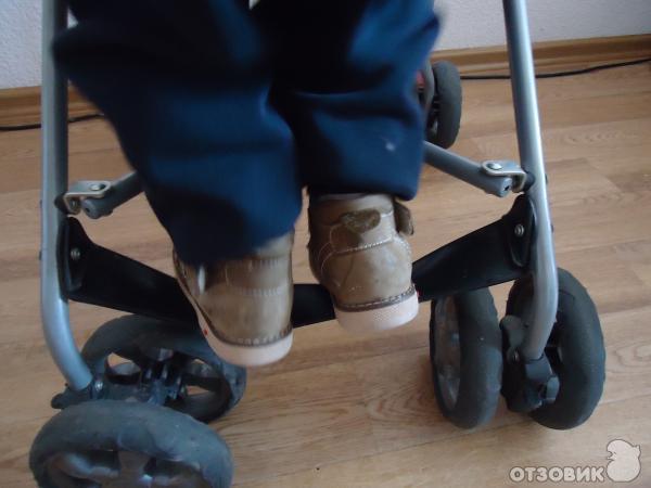 Как сделать в коляску подножку 744