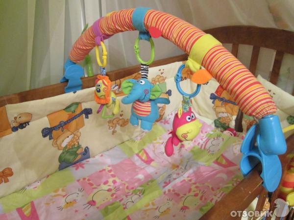 Как сделать дугу с игрушками своими руками 32