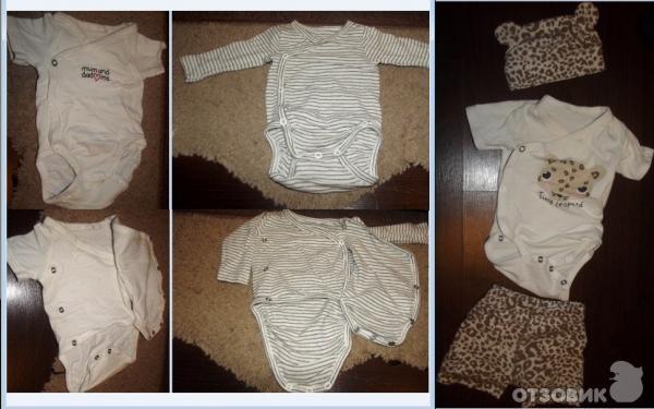 Отзыв одежда для новорожденных h m