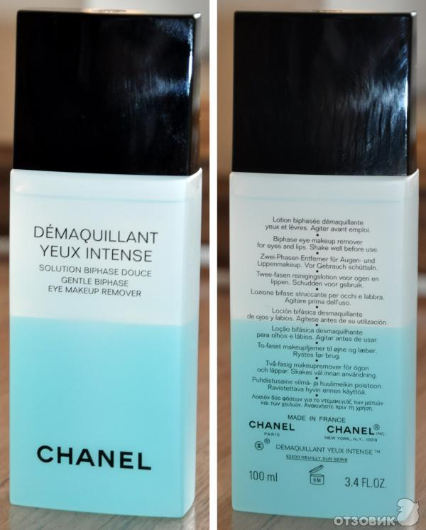 Chanel двухфазное средство для снятия макияжа6