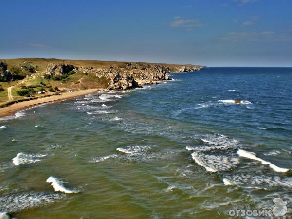 Караларский ландшафтный парк Божественный пляж