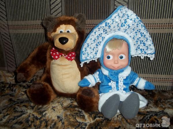 Маша и медведи игрушки своими руками