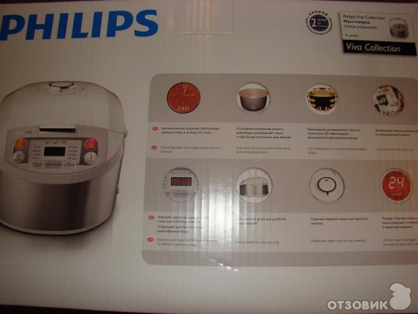 Мультиварка филипс 3033 рецепты блюд с фото