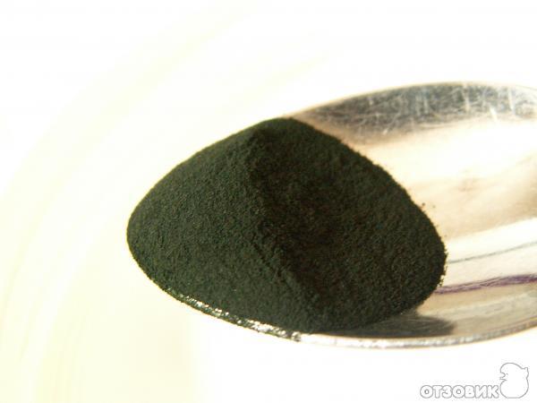 Спирулина в порошке Spirulina Powder RBC фото