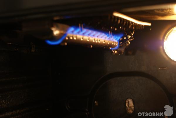 Ремонт гриля в газовой плите гефест