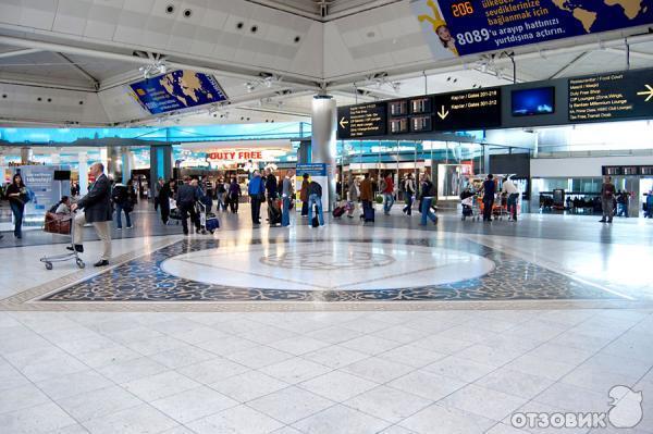 Аэропорт Ататюрк (а), (Турция,