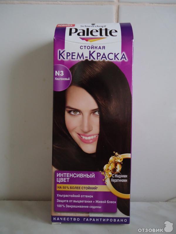 Палет краска для волос темно-каштановый отзывы