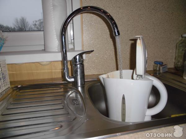 краны на кухню фото