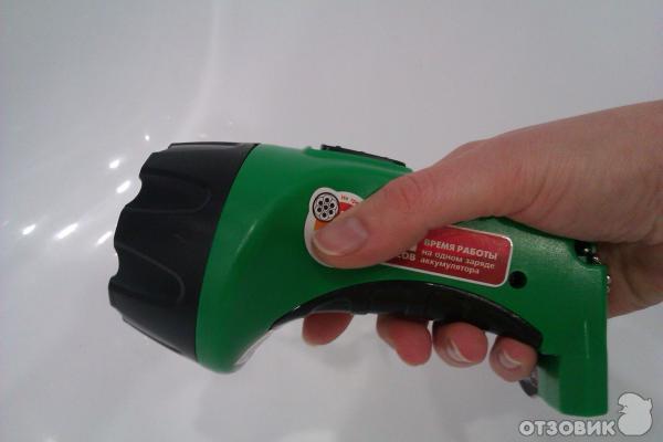 Аккумуляторный фонарь с зарядкой своими руками