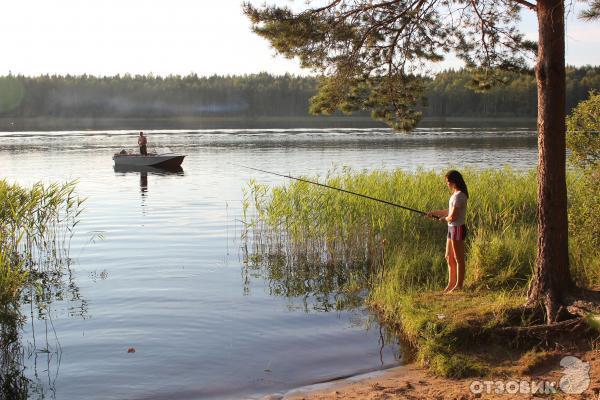 рыбалка на озере великом в тверской