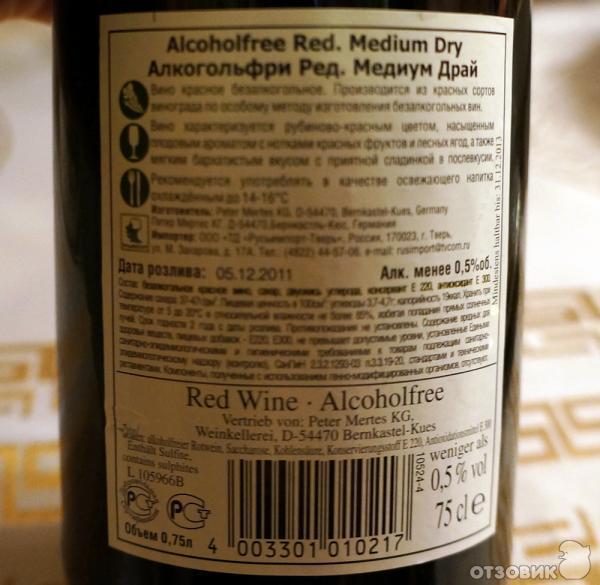 Безалкогольное Вино Купить Почтой