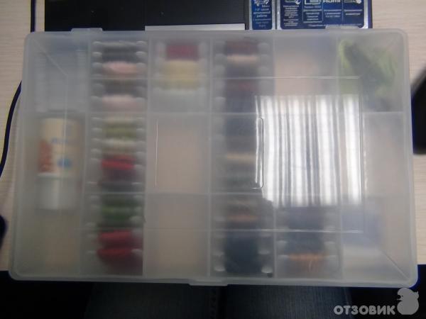 Отзыв: Органайзер DMC для хранения мулине - Ниточки в порядке!
