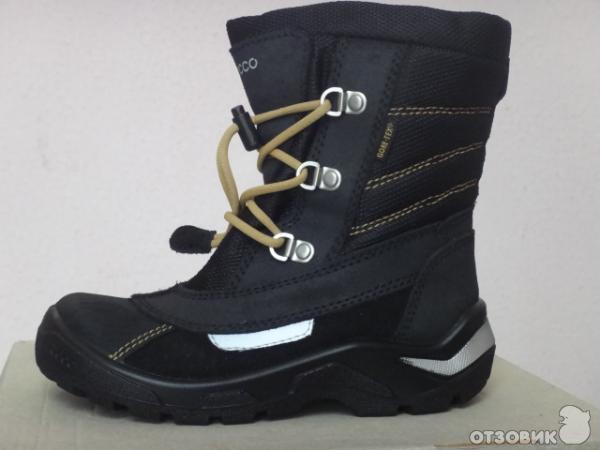 Мембранная детская зимняя обувь. Преимущество перед традиционной обувью. Энциклопедия ECCO. Технологии
