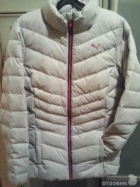 e55640eaa429 Отзыв о Куртка пуховая Puma   Легкая, теплая, функциональная куртка ...