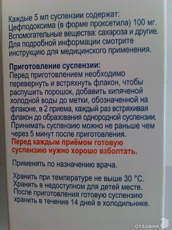Цефодокс 100 Инструкция Суспензия - zavodresurs