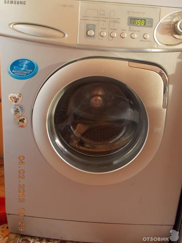 стиральной машины Samsung