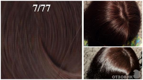 Эстель 6 77 на волосах фото