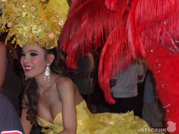 В тайланде много трансвеститов