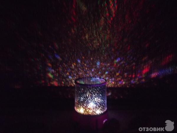 Отзыв: Ночник-проектор звездного неба Star Beauty - Звездное разнообразие у вас дома