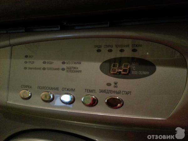 Отзыв: Стиральная машина Samsung Sensor Compact S803J - Отличная помощница в доме.