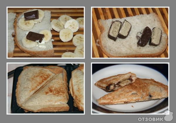 Вафли в сэндвичнице рецепт с фото