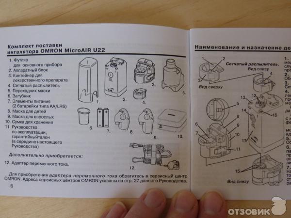 Ингалятор omron инструкция по применению