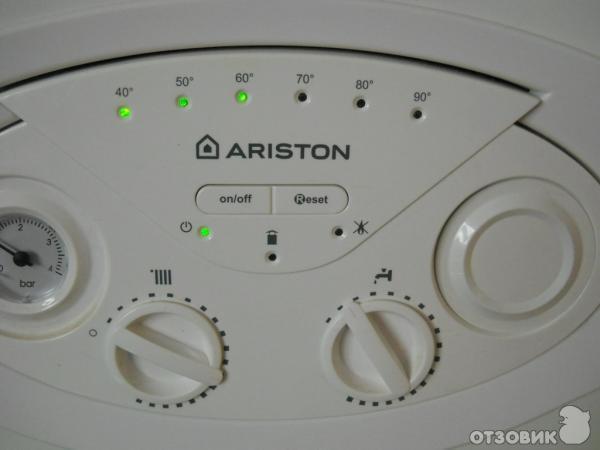 многих газовый котел аристон показывает 40 50 понравится поставлю