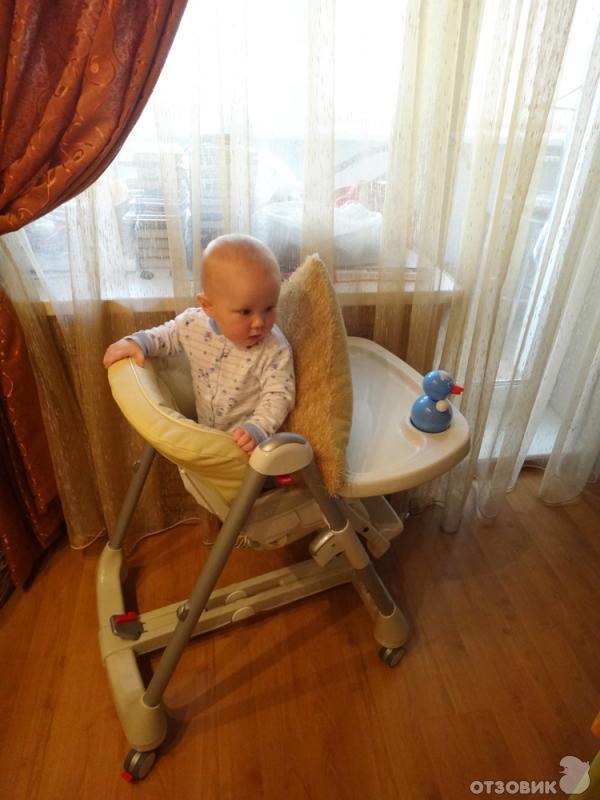 До какого возраста нужен стульчик для кормления