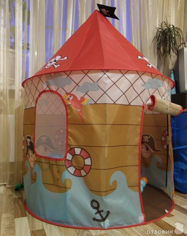 Палатка для детской своими руками