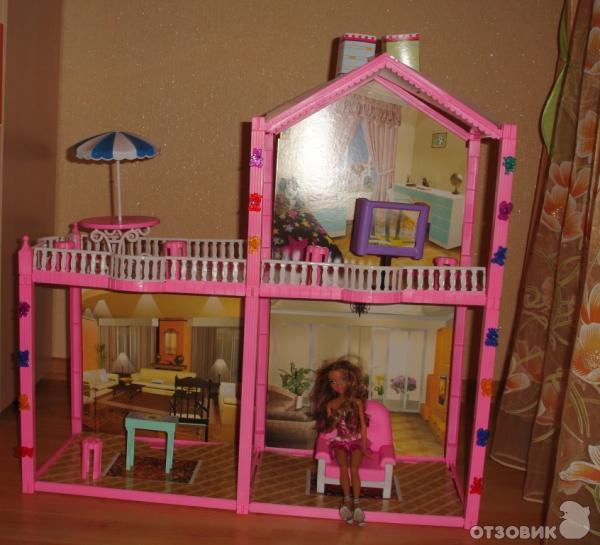 Как сделать двухэтажный дом для куклы