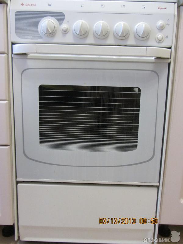 газовая плита гефест 300 07 инструкция