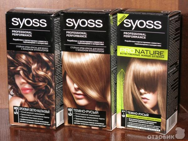 Syoss краска для волос отзывы