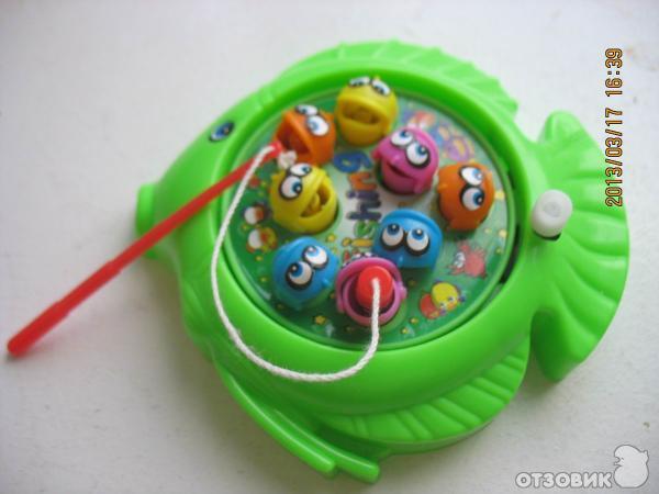 игрушка на магните ловить
