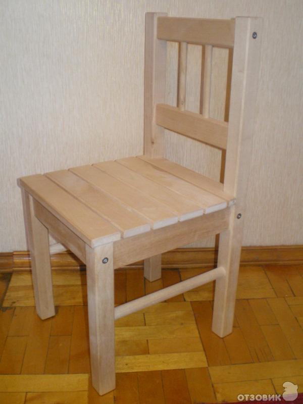 отзыв о детский стул Ikea свала удобный и надежный стул