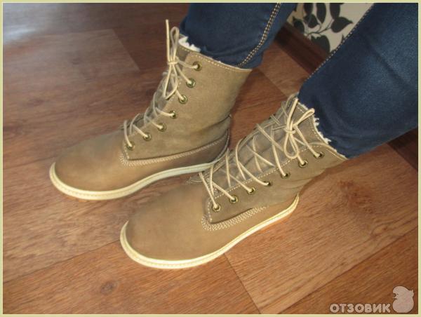 4c1a01898f7d Отзыв о Зимние женские ботинки Timberland Teddy Fleece   Такой ...