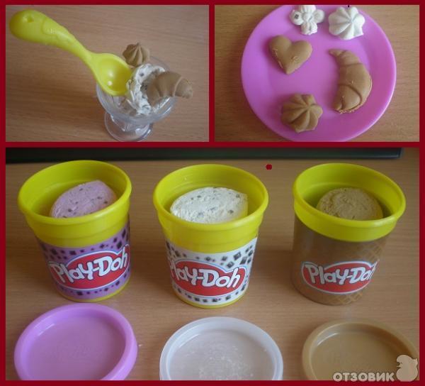 Пластилин Play Doh. Делаем сами) как сделать пластилин плей до в 81