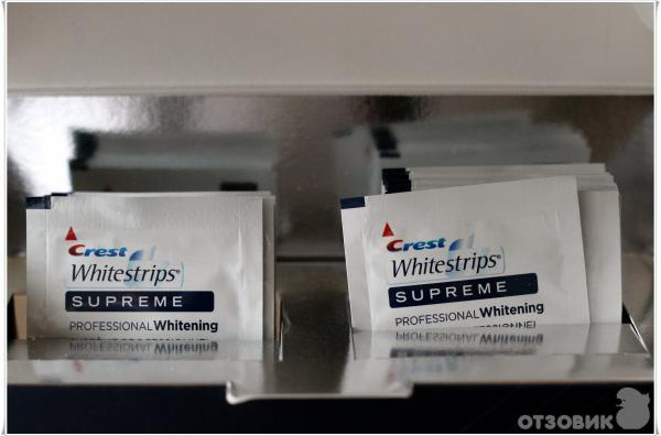 инструкция Crest Whitestrips Supreme Professional - фото 4