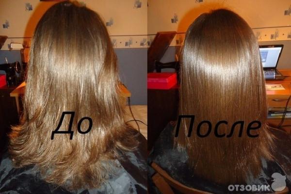Кератиновое японское выпрямление волос