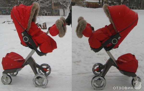 фото коляска стокке
