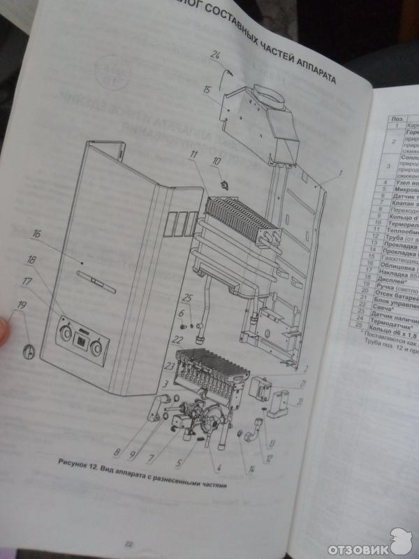 Колонка Газовая Нева 4510 Инструкция По Эксплуатации - фото 5