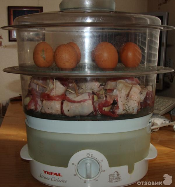 инструкция к пароварке tefal steam cuisine vitamin+