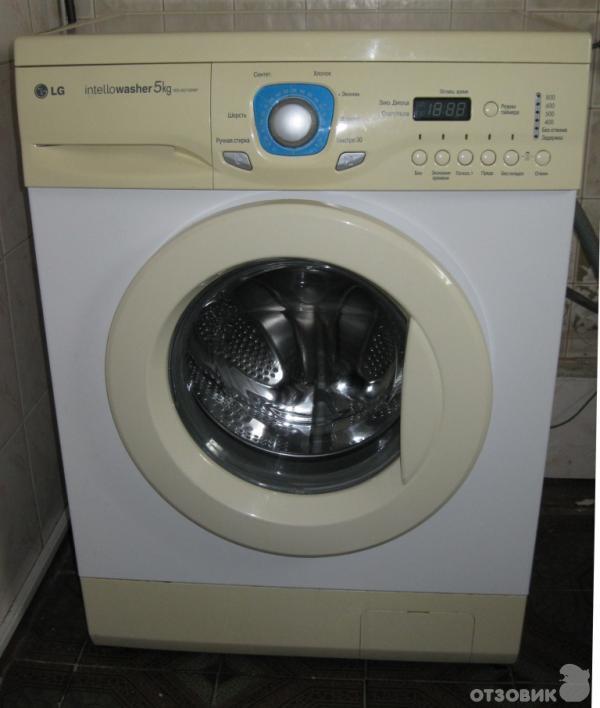 Стиральная машина lg wd 80150n инструкция