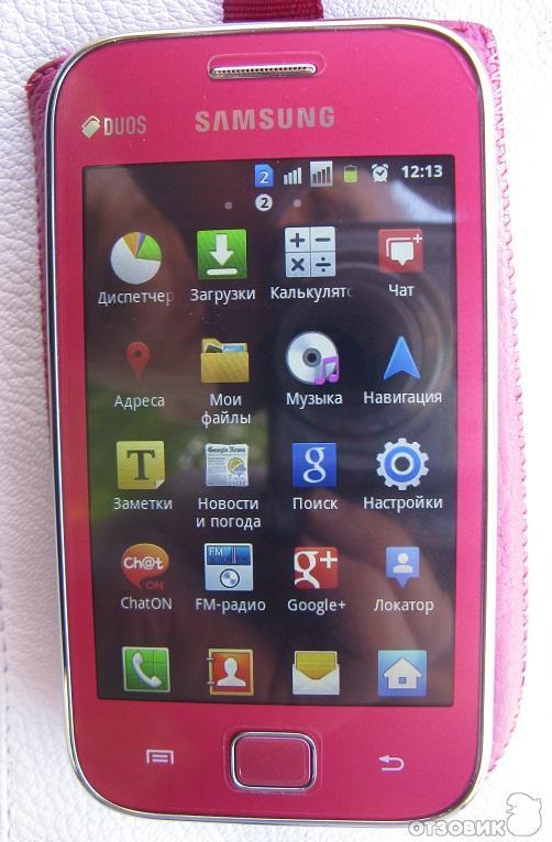 Все Про Андроид Samsung Gt S6802