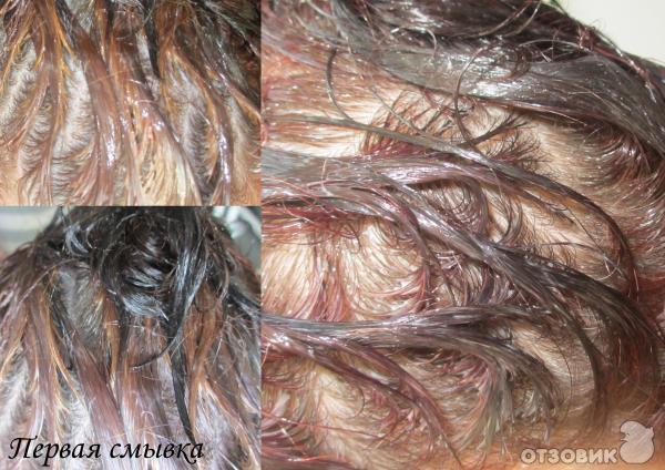 смывка для волос эстель фото до и после